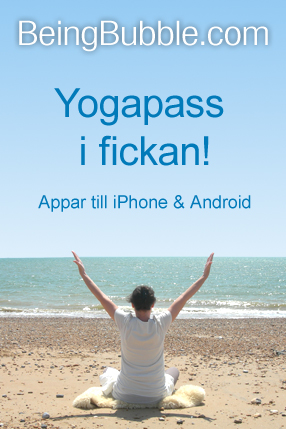 BeingBubble.com - Yogapass i fickan!