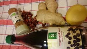 C-vitamin boost med nypon och vinbär